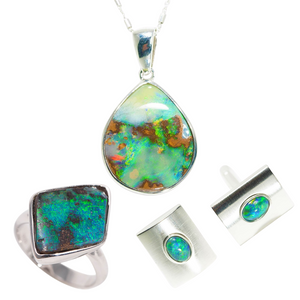 ELECTRIC FOREST OPAL JEWELLERY SET