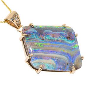 Opal Necklace