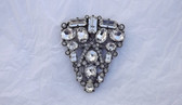 Huge Eisenberg Original Art Deco Dress Clip Gorgeous Brooch