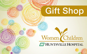 Huntsville Hospital for Women & Children Gift Shop gift card