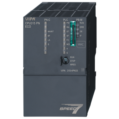 315-4PN33 - CPU315SN/PN, SPEED7, 512KB, PtP Interface, Profinet IO Controller, Configurable in TIA Portal