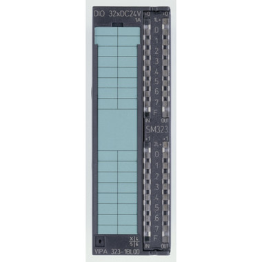 323-1BL00 - SM323 Digital Input Output, 16DI, 16DO, 24VDC, 1A. Replacement for Siemens 6ES7323-1BL00-0AA0