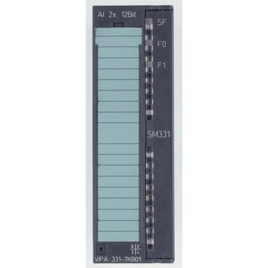 331-7KB01 - SM331 Analog Input, 2AI, +/-10V, +/-20mA, RTD. Replacement for Siemens 6ES7331-7KB02-0AB0