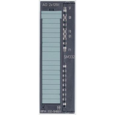332-5HB01 - SM332 Analog Output, 2AO, +/-10V, +/-20mA. Replacement for Siemens 6ES7332-5HB01-0AB0