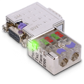 972-0DP10 90 degree Profibus connector with green LED