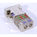 Profibus Connector w/ LEDs - 0 Degree | EasyConn
