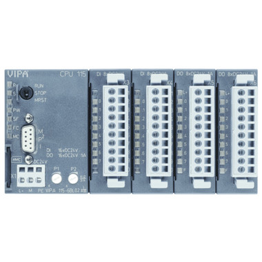 115-6BL02 - CPU115, 16KB, 16DI, 12DO, 4DIO, 50KHz PWM