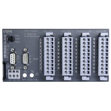 115-6BL13 - CPU115, 24KB, 16DI, 12DO, 4DIO, 50KHz PWM, RS232