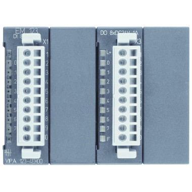 123-4EH01 - EM123 Expansion Module, 8DI, 8DO, 24VDC