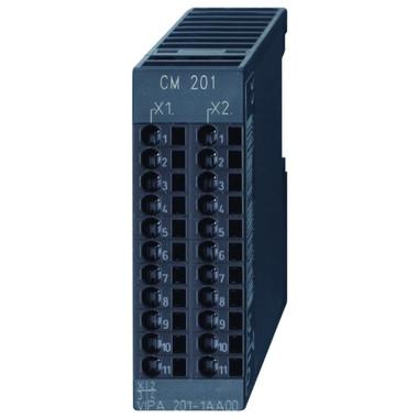 201-1AA00 - CM201 Terminal Module, 2x11 Passive Terminals, Gray