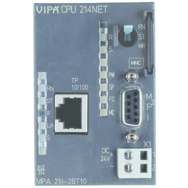 214-2BT13 - CPU214, 96KB, Ethernet Communication Processor CP243