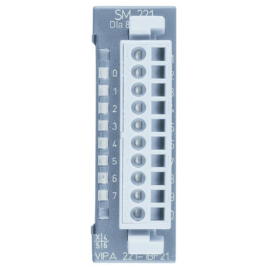 221-1BF21 - SM221 Digital Input, 8DI Alarm, 24VDC, 0.2ms Delay