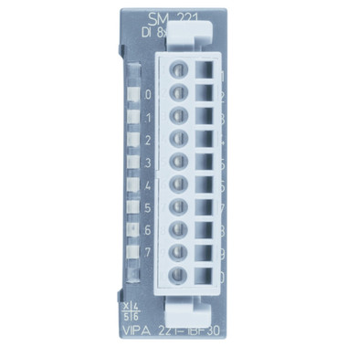 221-1BF30 - SM221 Digital Input, 8DI, 24VDC, ECO