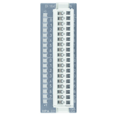221-1BH51 - SM221 Digital Input, 16DI, 24VDC, Active Low
