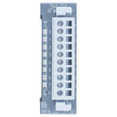 221-1FF20 - SM221 Digital Input, 8DI, 60-230VAC/VDC