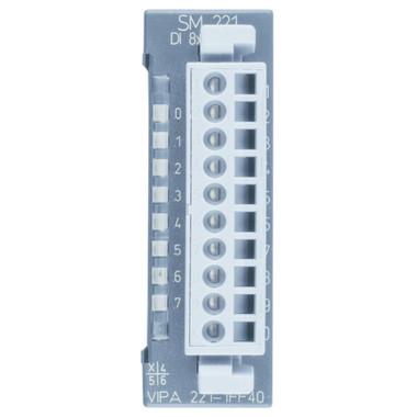 221-1FF40 - SM221 Digital Input, 8DI, 230VAC, Hysteresis