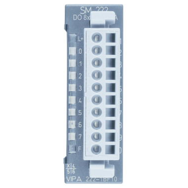 222-1BF10 - SM222 Digital Output, 8DO, 24VDC, 1A