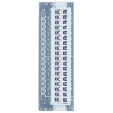 222-1BH30 - SM222 Digital Output, 16DO, 24VDC, 0.5A, ECO