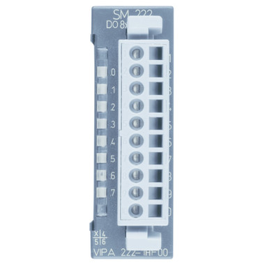 222-1HF00 - SM222 Digital Output, 8 Relay Outputs, 230VAC/30VDC, 5A