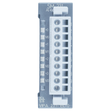 231-1BD70 - SM231 Analog Input, 4AI, 12 Bit, +/-10V, Isolated