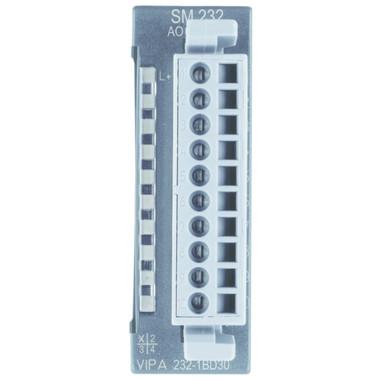 232-1BD30 - SM232 Analog Output, 4AO, 12 Bit, +/-10V, ECO