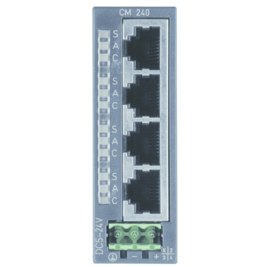 240-1DA10 - CM240 Mini-Switch, 4-Port Ethernet Switch