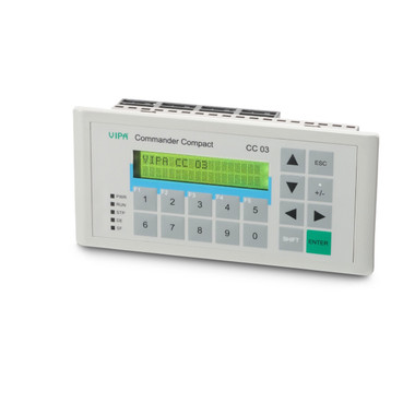 603-1CC23 - Commander Compact, MPI, 128KB, 2x20 Display, 32KB PLC, 16DI, 16DO