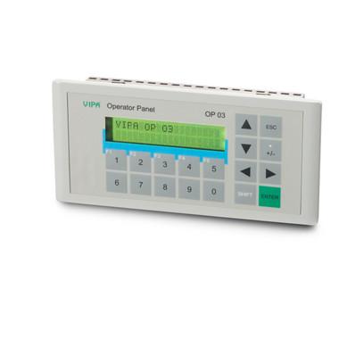 603-1OP10 - Operator Panel, MPI, 256KB, 2x20 Display