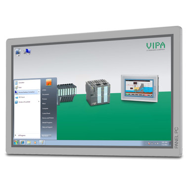 "67S-PNJ0-JB - Panel PC, 21"", Intel Atom D2550, 8GB, Windows Embedded Compact 7, Movicon 11 WIN Standard Runtime"