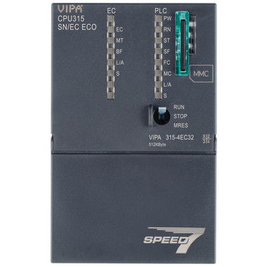 315-4EC32 - CPU315SN/EC, SPEED7, 512KB, PtP Interface, EtherCAT Controller