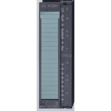332-5HD01 - SM332 Analog Output, 4AO, +/-10V, +/-20mA