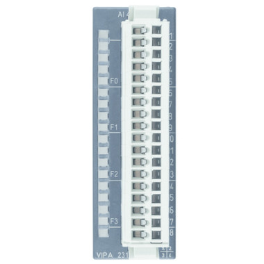 231-1FD00 - SM231 Analog Input, 4AI, 12 Bit, Configurable, +/-10V, +/-20mA, 0.8ms Cycle Time