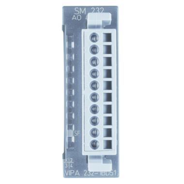 232-1BD51 - SM232 Analog Output, 4AO, 12 Bit, Configurable, +/-10V, +/-20mA
