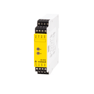 Output expansion unit, 2x2 enabling current paths, 2x1 signaling outputs, DC 24 V, screw-terminals pluggable