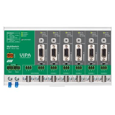 PROFIswitch B5-R PROFIBUS Baud Rate switch hub - VIPA 921-1EB50
