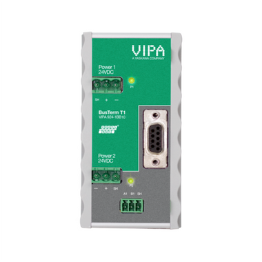 The VIPA 924-1BB10  PROFIBUS-Term T1 provides active and reliable termination for PROFIBUS networks.
