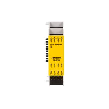 R1.190.0040.0 samosPRO SP-SDIO84-P1-K-C PLC Digital I/O Module