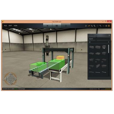 MHJ F1-2-SIE | Factory I/O V2 Siemens Edition, S7-PLC 3-D Simulation Training