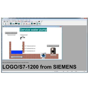MHJ M003.020-S | S7 & LOGO! Virtual Plant Simulation Software, Business License, S7-PLC (1200/Logo) Simulation Software
