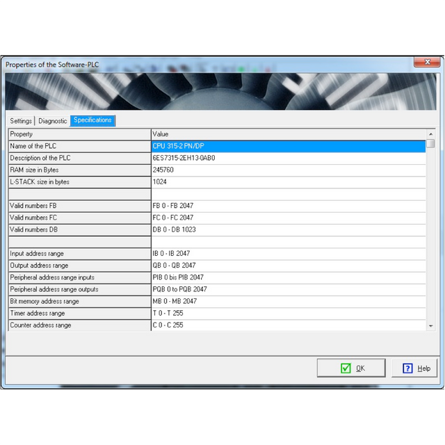 MHJ M001 206-NW | WinPLC-Engine Pro, S7-Software PLC for Simulation