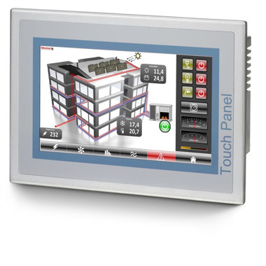 """62H-MDC0-DH - 7"""" ECO HMI, 800x480 Resolution, 128MB Memory, Windows Embedded CE 6.0 Core, Movicon Basic Runtime"""