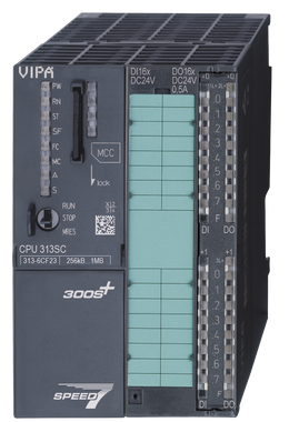 VIPA 313-6CF23 | CPUs STEP7 Programmable, Class C, 16DI, 16,DO, 256kB