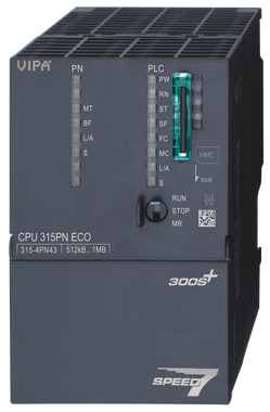 315-4PN43 - CPU315SN/PN ECO, SPEED7, 512KB, PtP Interface, Profinet Controller