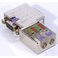 ModbusRTU/ASCII D-Sub Bus Connector - 90 Degrees