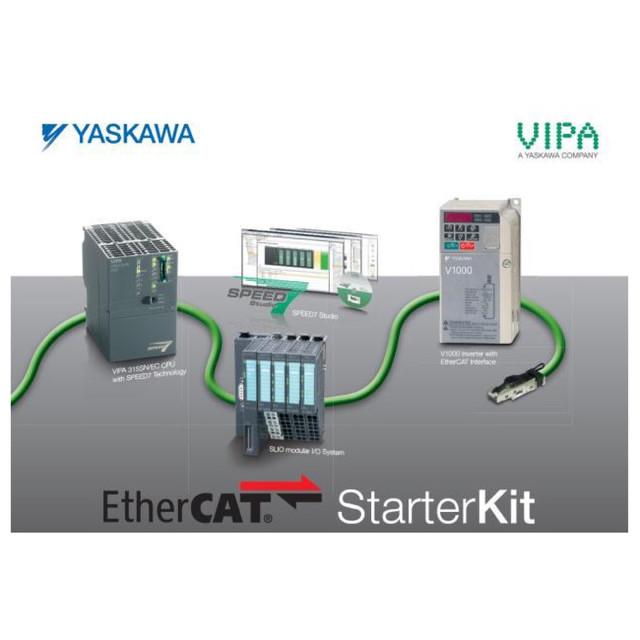 VIPA SLIO StarterKit - Yaskawa Drive and VIPA SLIO EtherCAT