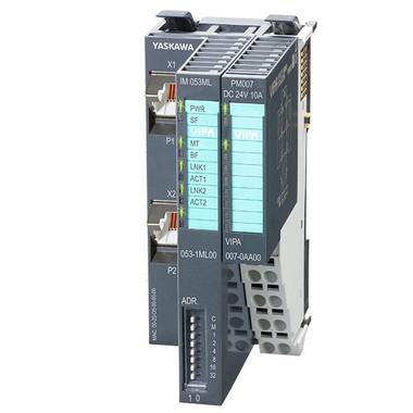 VIPA 053-1ML00 - IM053 Interface Module, Fieldbus slave module without I/Os 3D view