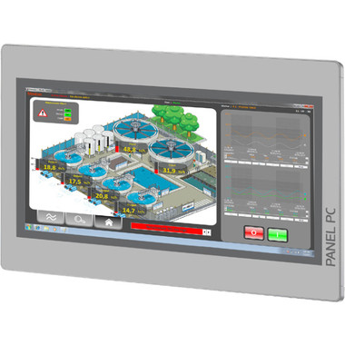 "VIPA 67P-RRJ0-EB 15.1"" Touch Panel PC"