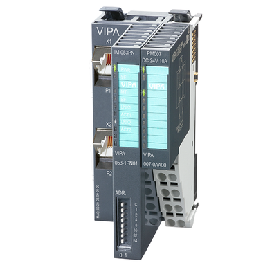 PROFINET-IO Slave Interface Module - VIPA 053-1EC01 - IM053PN 3D View