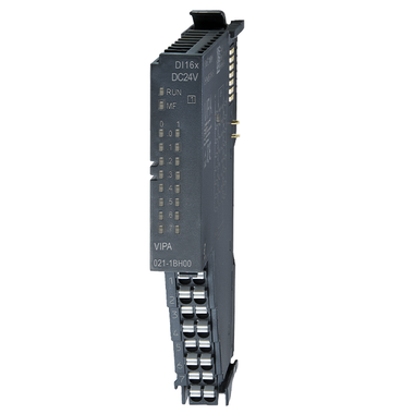 VIPA SLIO Digital Signal Module 021-1BH00, 16x Digital Inputs, 24 VDC