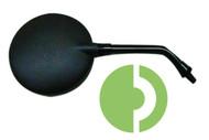 61927150 Laverda Mirror Short Black M10x1.25 L or R side